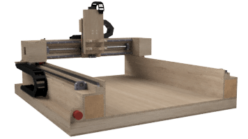 My own design of a CNC router